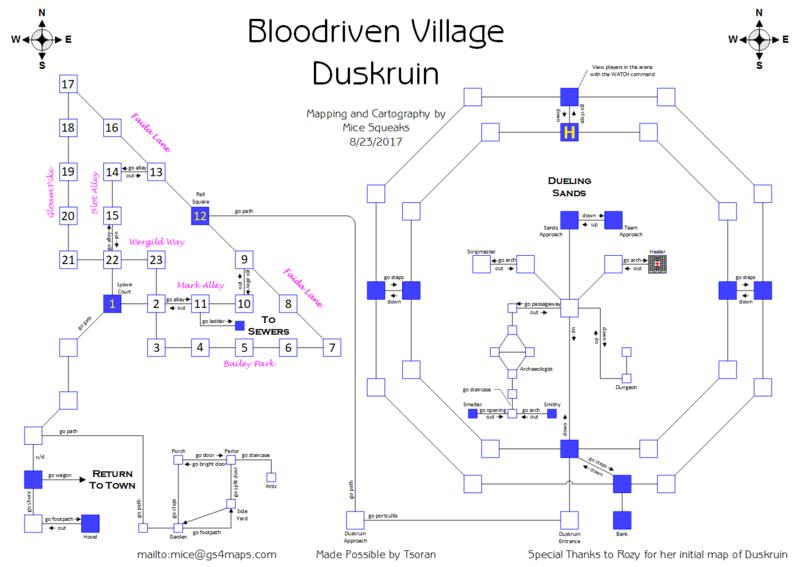 Duskruin Arena Bloodriven Village Shop Listing 2020 Q3 Gemstone Iv Wiki
