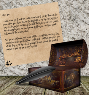 Player submitted graphic of Drehod's letter