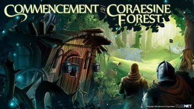 Commencement of Coraesine Forest Graphic